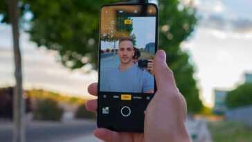 Selfie avec OPPO Reno