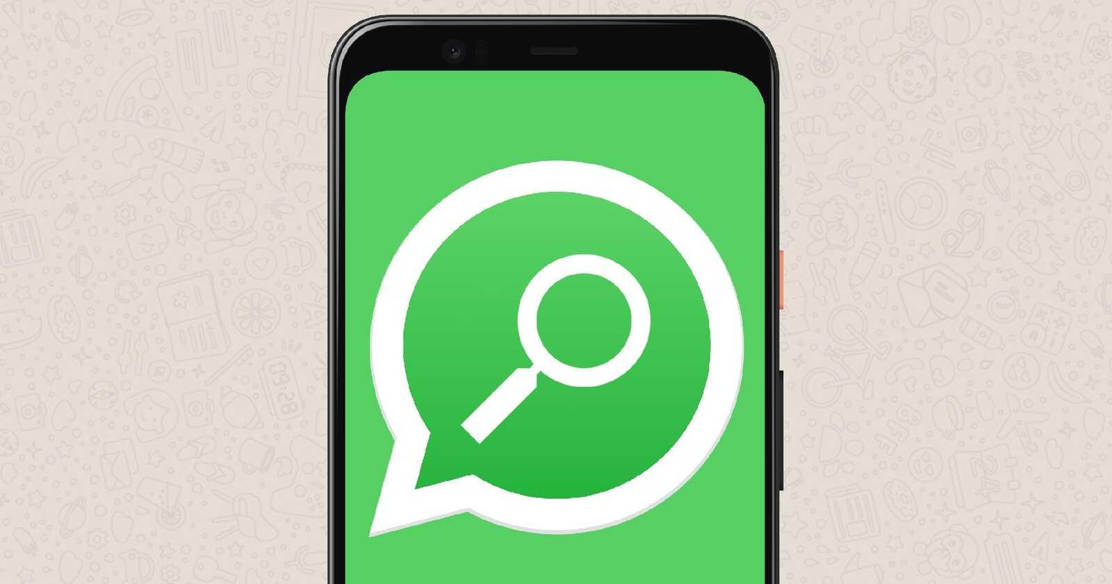Rechercher sur WhatsApp