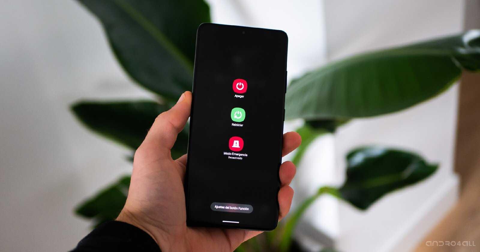 Redémarrez le Samsung Galaxy S21