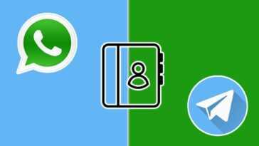 Contacts WhatsApp sur Telegram