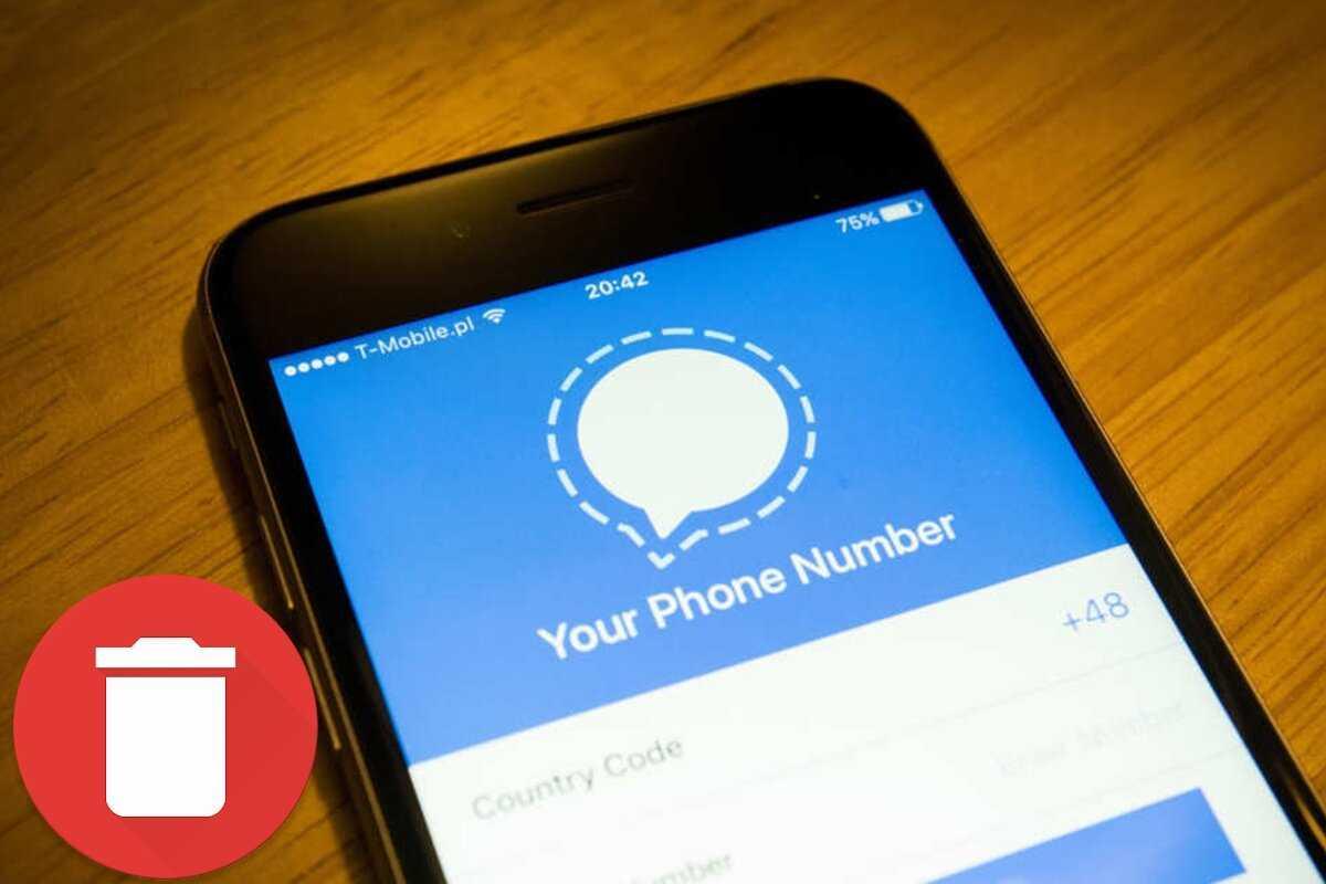 Comment supprimer les messages déjà envoyés dans Signal