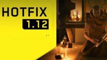 Cyberpunk 2077 Hotfix 1.12 Est Là Et Comble Les Failles