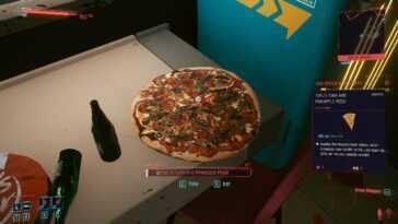 Dans Cyberpunk 2077, La Pizza à L'ananas Est Illégale