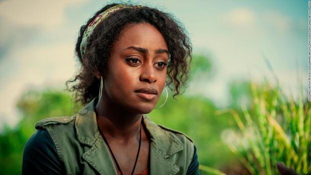 Louise n'est pas explicitement noire dans le livre (Photo: Netflix)