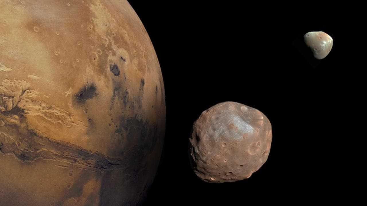 Des scientifiques détectent de la vapeur d'eau s'échappant haut dans l'atmosphère de Mars