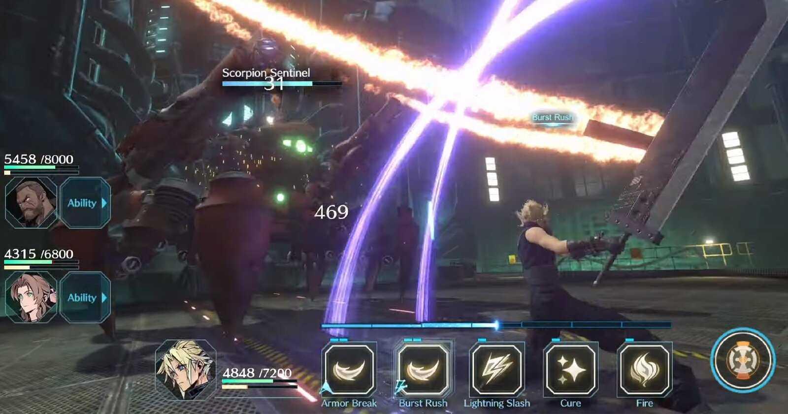 Nouveau Final Fantasy pour mobile