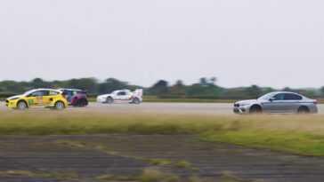 Fou. Bmw M5 1000 Ch Contre Les Machines De Rallycross