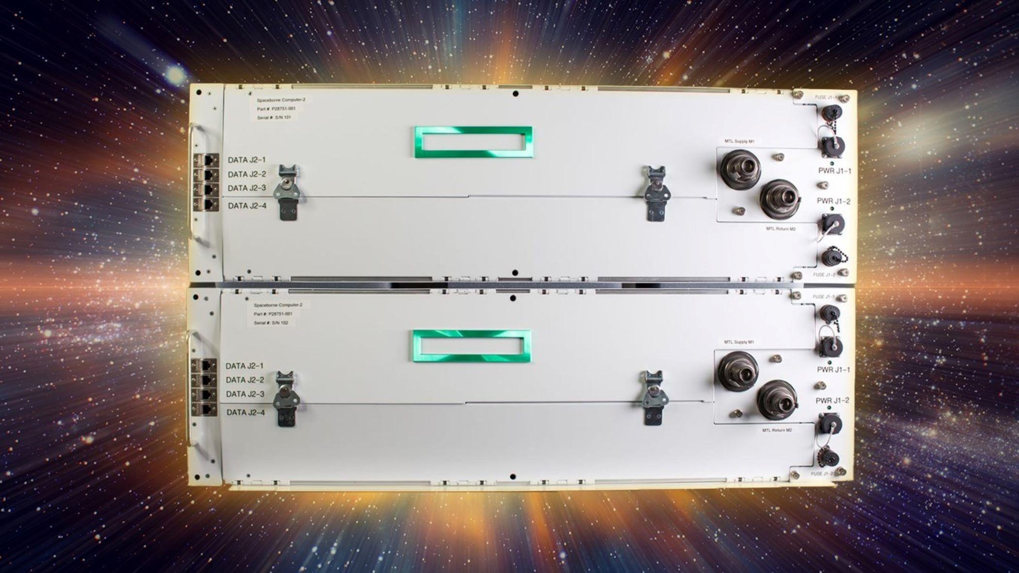 Microsoft et Hewlett Packard Enterprise se sont associés pour lancer Spaceborne Computer-2 sur la Station spatiale internationale afin de mettre en orbite des capacités d'intelligence artificielle et d'apprentissage automatique.
