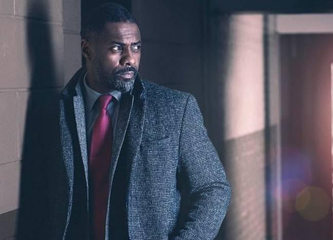 Idris Elba a confirmé qu'un film de Luther commencera à tourner cette année.  Crédit: BBC
