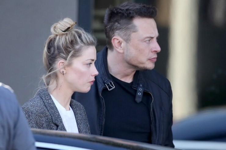 Elon Musk et Amber Heard
