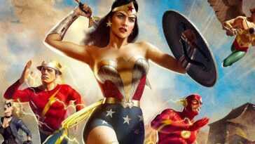 Justice Society: La Bande Annonce De La Seconde Guerre Mondiale Arrive,