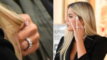 Khloe Kardashian Est Fiancée Sa Bague Fait Fureur