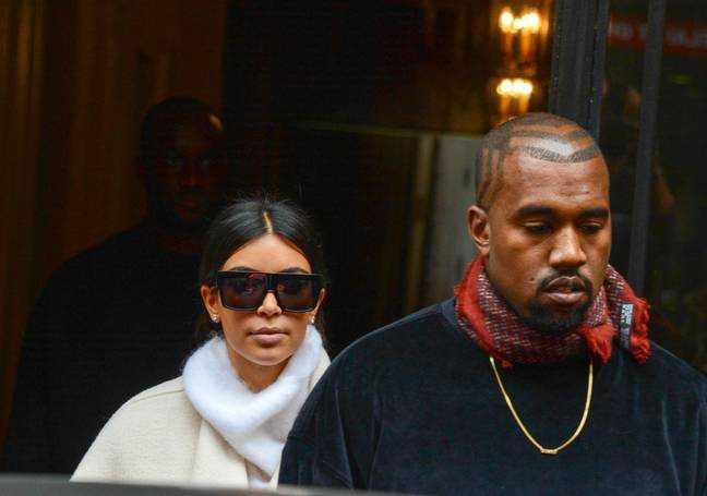 Kim Kardashian et Kanye West en 2014. Crédit: PA