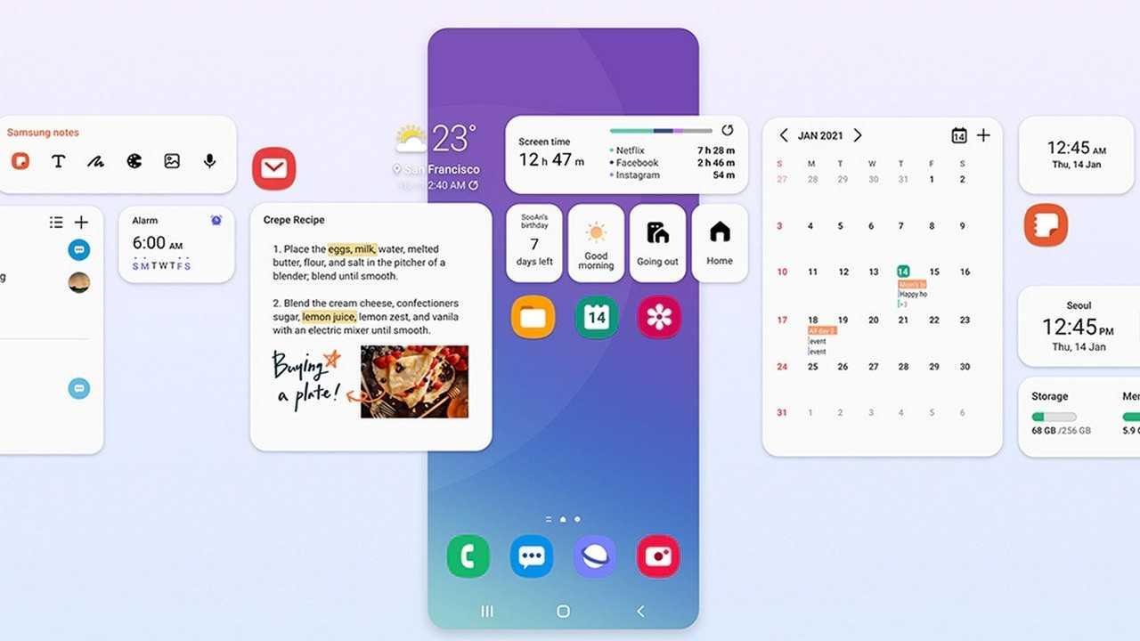 La mise à jour Samsung One UI 3.1 apporte de nouvelles fonctionnalités, notamment l'enregistrement multi-micro, le partage privé, la protection oculaire et plus