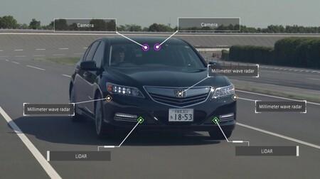 Capteurs autonomes Honda