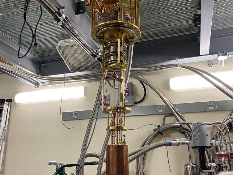 Le détecteur HAYSTAC recherche l'axion, l'une des particules hypothétiques qui pourraient constituer la matière noire.