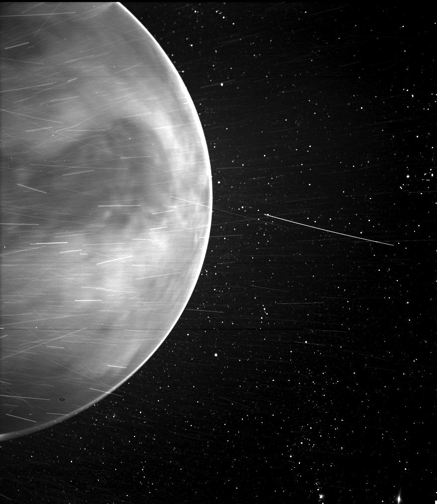 Une image de Vénus prise le 11 juillet 2020 par un instrument de la sonde solaire Parker de la NASA.