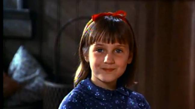 Mara Wilson a joué le rôle principal dans Matilda en 1996.  Crédit: Sony Pictures