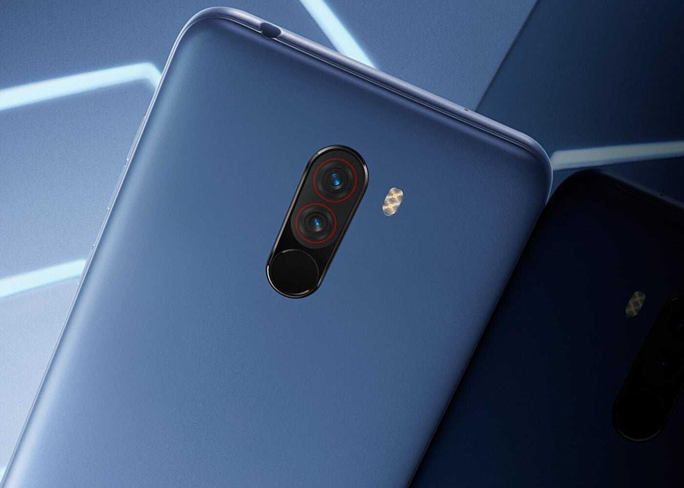Xiaomi POCO F1, appareil photo