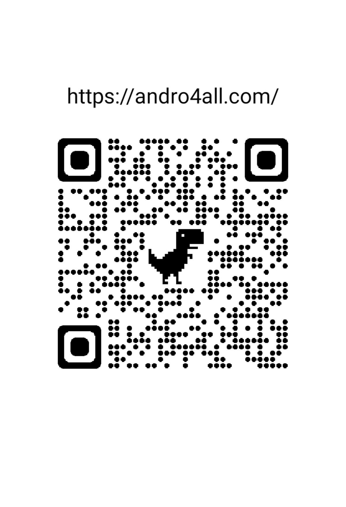 Ceci est le code QR personnalisé d'Andro4all