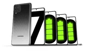 Samsung Galaxy M62 avec batterie 7000 mAh