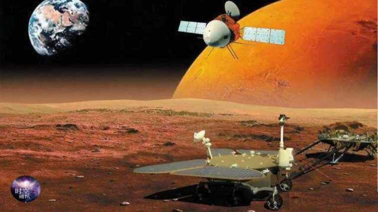 Le Vaisseau Spatial Chinois Tianwen 1 Entre En Orbite Sur Mars,