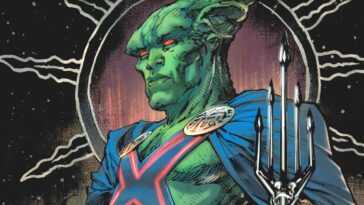 Martian Manhunter Révélé Dans La Bande Dessinée De Prévisualisation De
