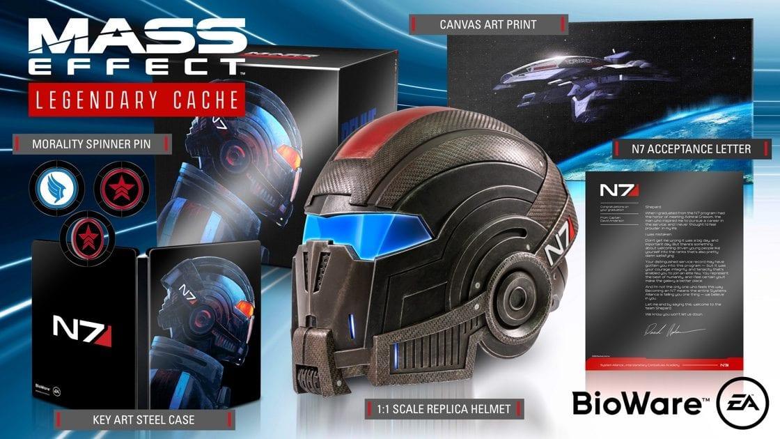 Mass Effect Legendary Edition Édition Collector