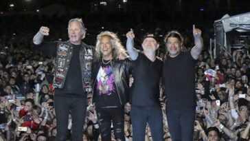 Metallica Est Censuré Sur Twitch Pour Avoir Joué Ses Propres