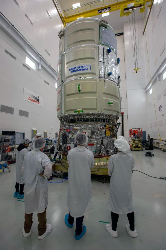 """Le cargo NG-15 Cygnus de Northrop Grumman est nommé le """"SS Katherine Johnson"""" en l'honneur de la mathématicienne de la NASA Katherine Johnson."""