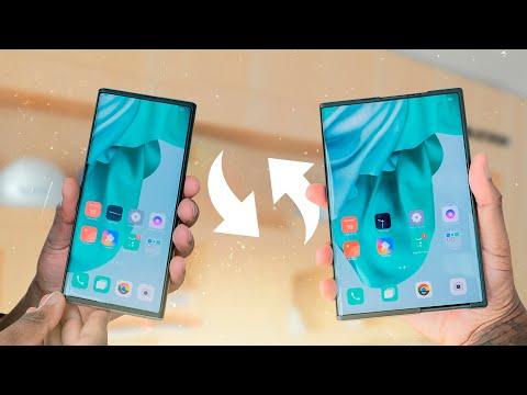 OPPO X 2021 est déjà une réalité: rencontrez le premier mobile roll-up de l'histoire