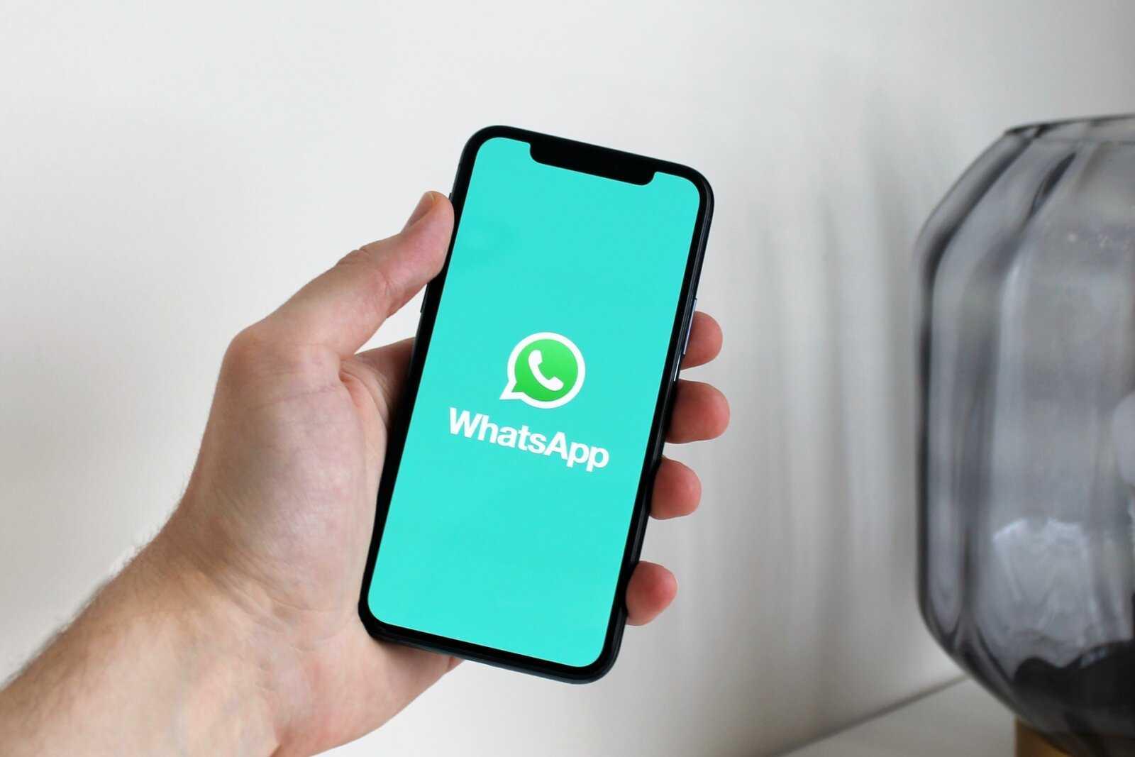 WhatsApp sur un téléphone mobile