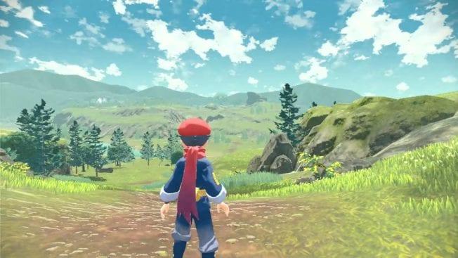 Pokémon Legends Arceus - Images du monde ouvert