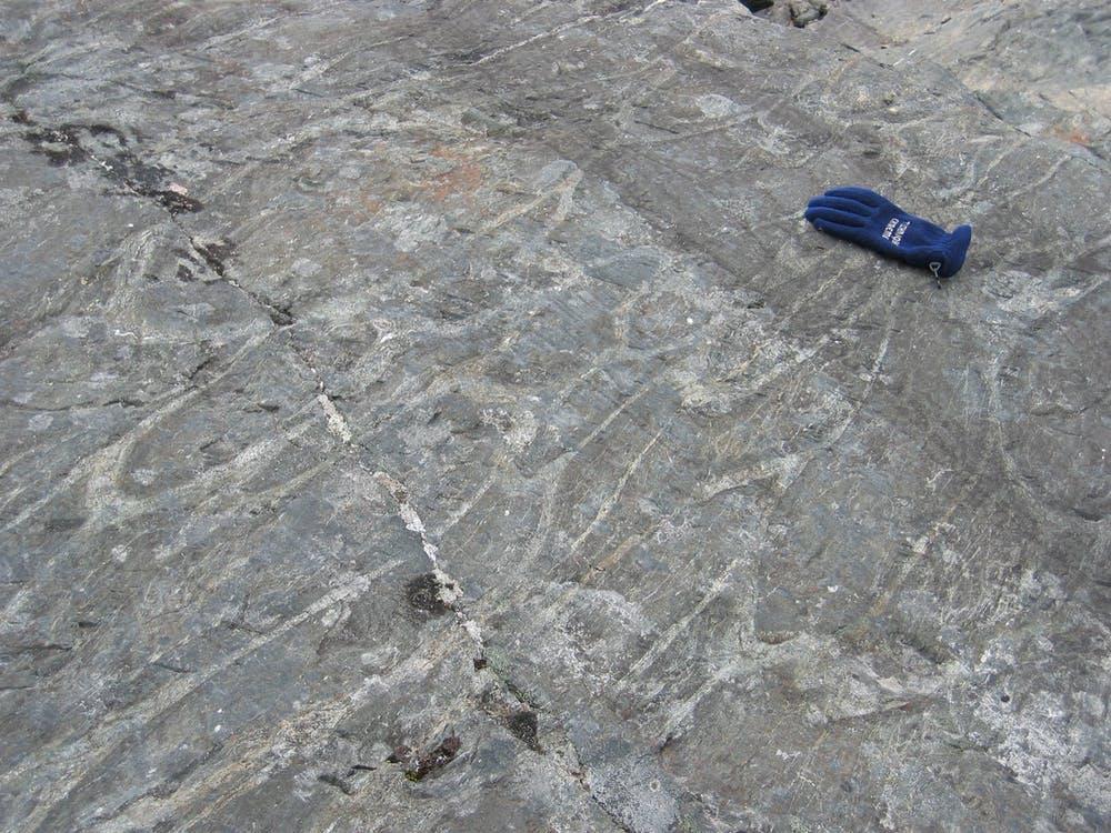 Une trace des océans les plus anciens: des laves d'oreiller vieilles de 3,8 milliards d'années (Groenland).