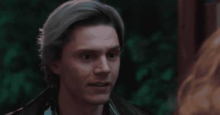 Evan Peters, Quicksilver de X-Men