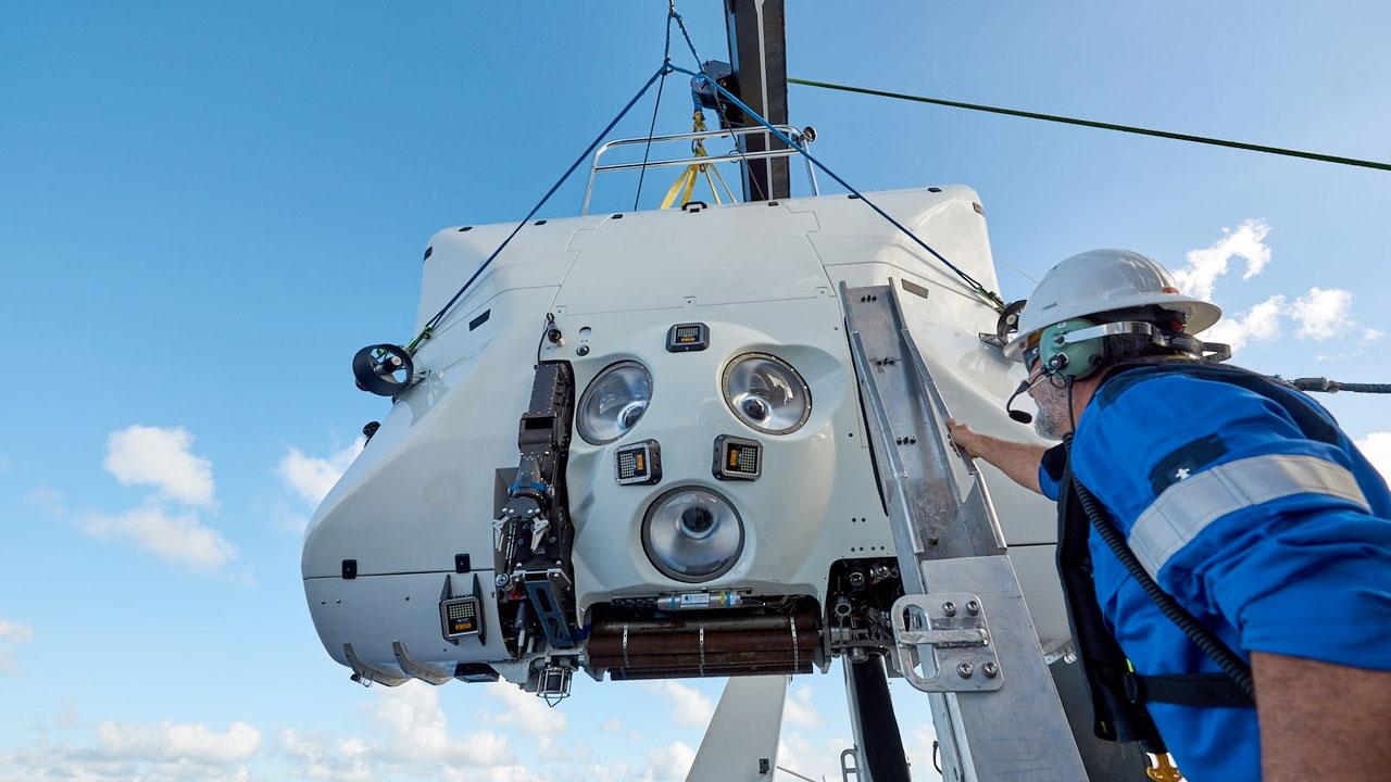 """Richard Garriott plongera à bord du Caladan Oceanic's """"Facteur limitatif,"""" le premier véhicule d'immersion profonde certifié commercialement pour toute la profondeur de l'océan."""
