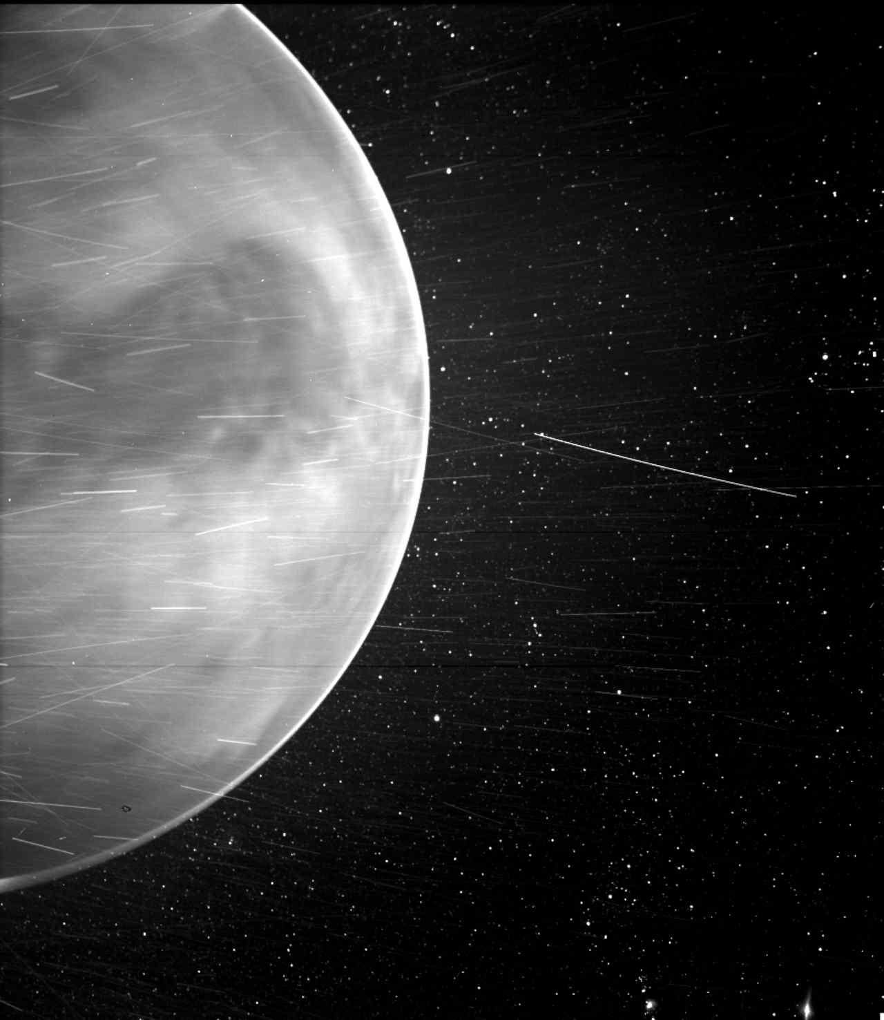Rare aperçu de Vénus sous une nouvelle lumière capturée par la caméra WISPR sur la sonde Parker de la NASA