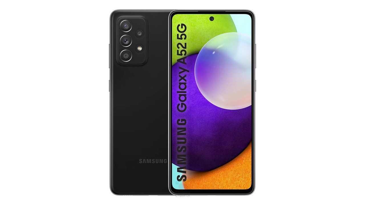 Samsung Galaxy A52, Galaxy A52 5G fuite suggère un affichage de taux de rafraîchissement de 90 Hz, 6 Go de RAM et plus