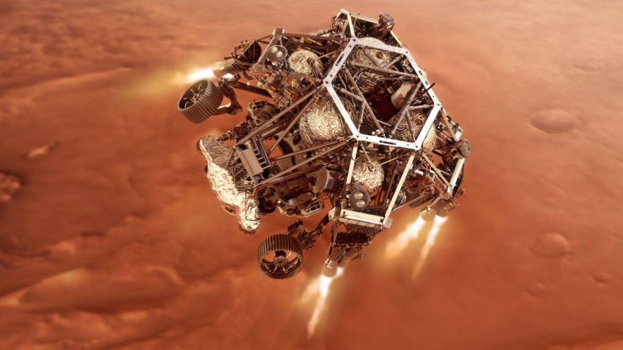 Sept minutes de terreur: comprendre la technologie dont la persévérance aura besoin pour survivre à l'atterrissage sur Mars