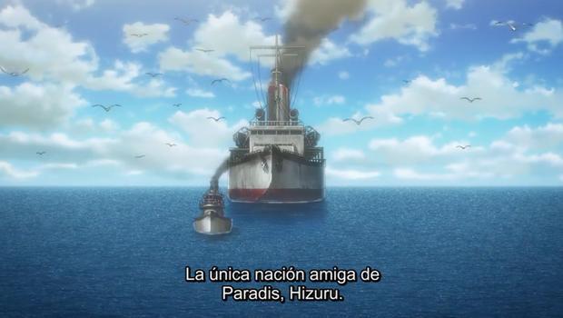 Hizuru est la nation alliée de Paradise Island (Photo: Crunchyroll)