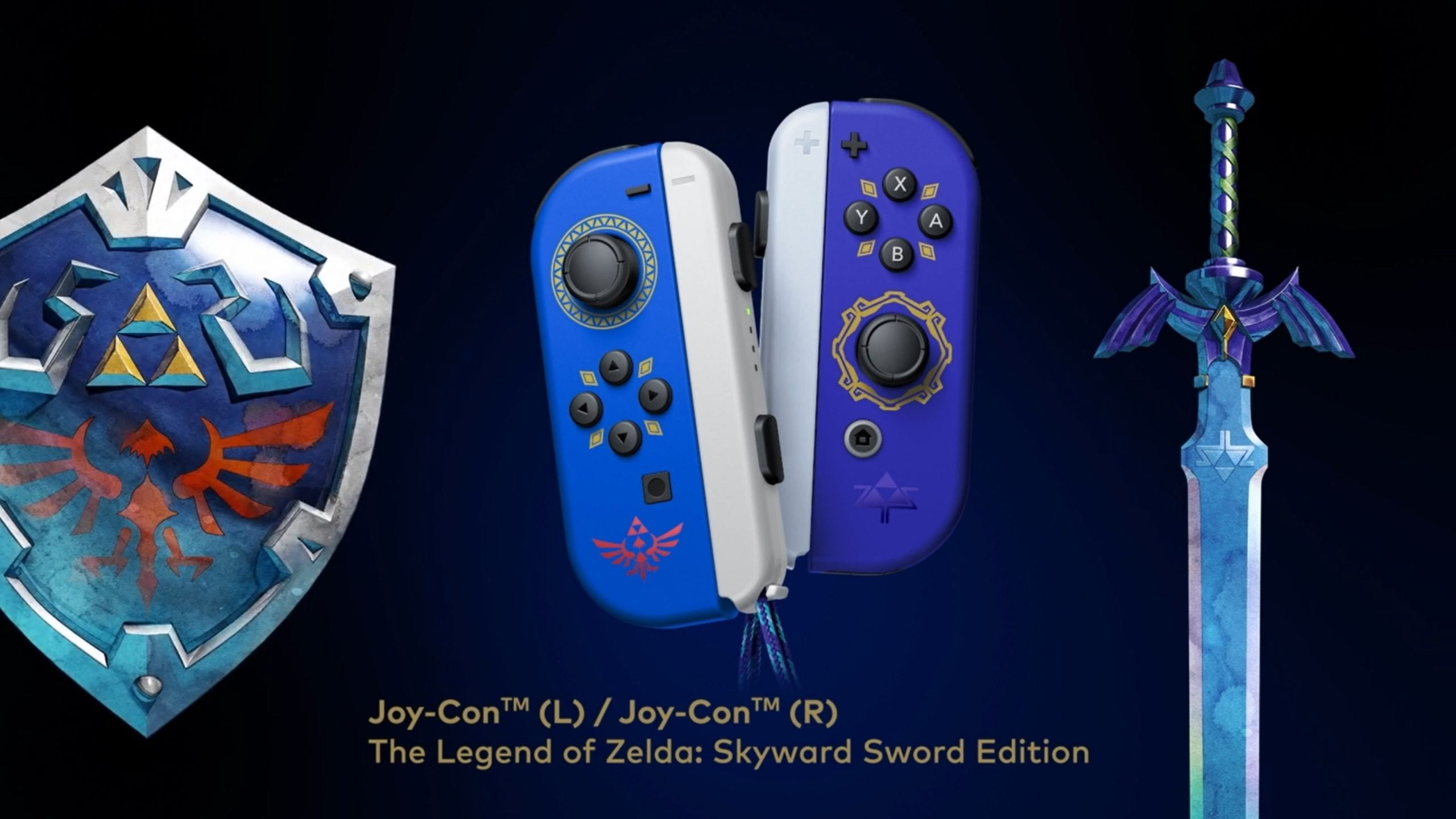 Zelda Skyward Sword HD Joy-Con