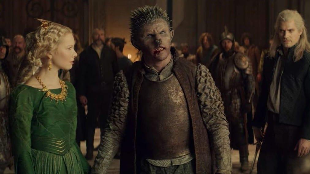 The Witcher Netflix Pavetta Duny Saison 2