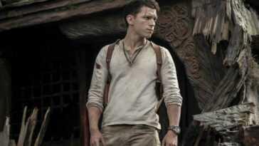Tom Holland ne semble pas particulièrement satisfait de sa représentation de Nathan Drake d'Uncharted