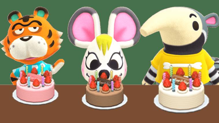 Tous Les Anniversaires Dans Animal Crossing: New Horizons