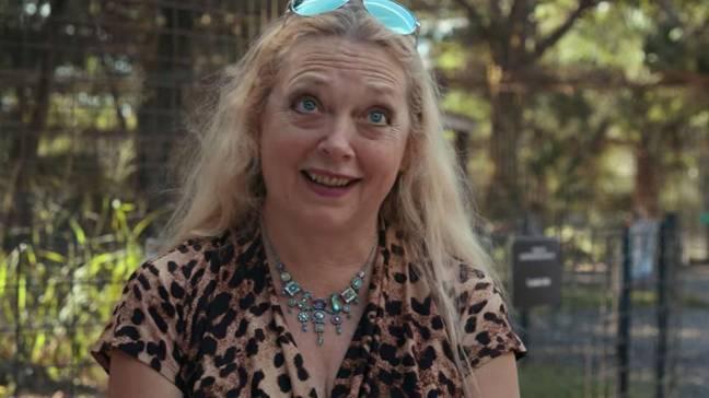 Il est très probable que Carole Baskin ne se joindra pas à la deuxième saison.  Crédit: Netflix