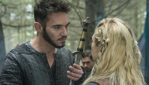 La romance entre Heahmund et Lagertha n