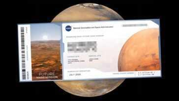 Votre Nom Peut Finir Sur Mars: Voici Comment «voyager» Sur