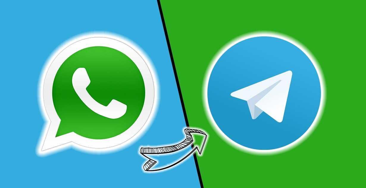 Conception avec les logos WhatsApp et Telegram