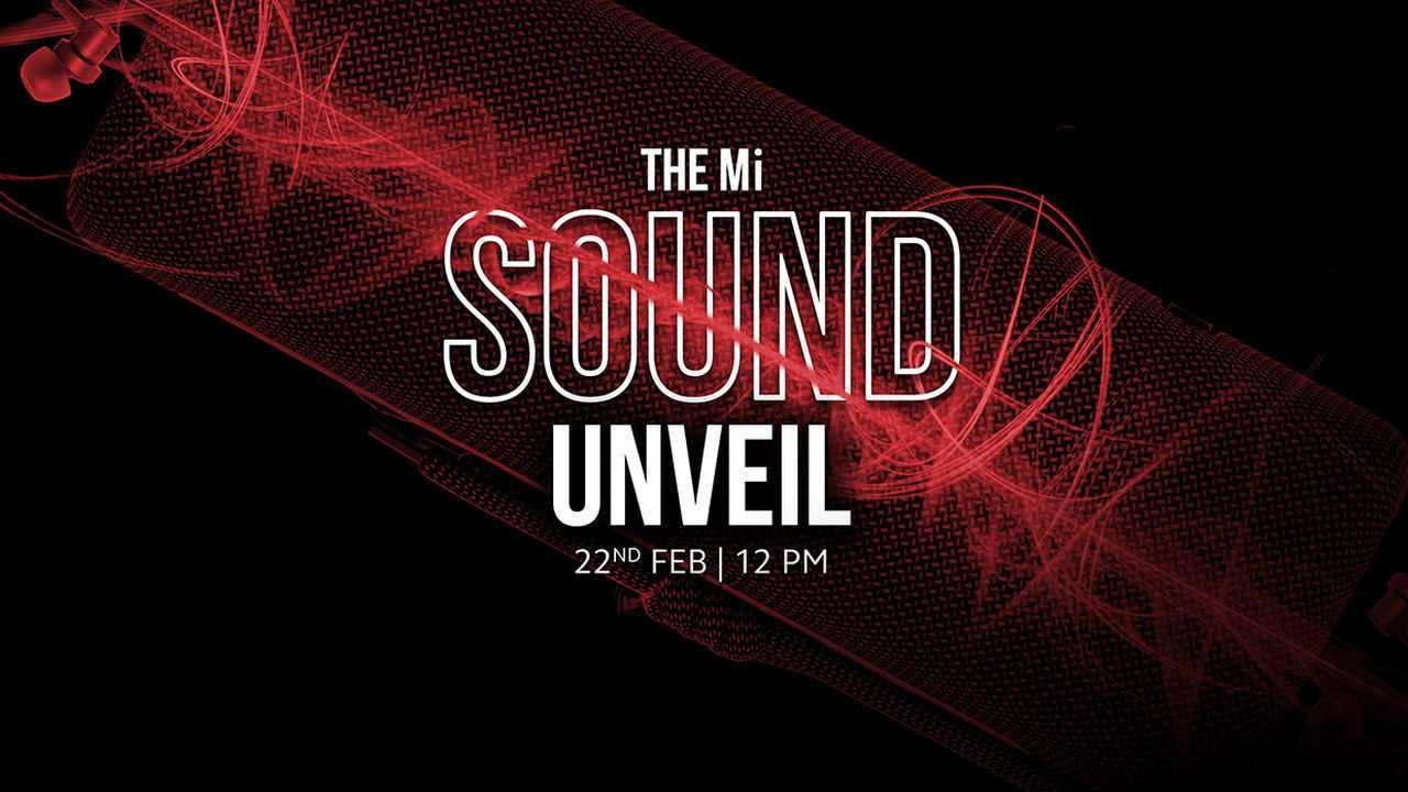 Xiaomi Accueillera L'événement Mi Sound Unveil Aujourd'hui à 12 Heures: