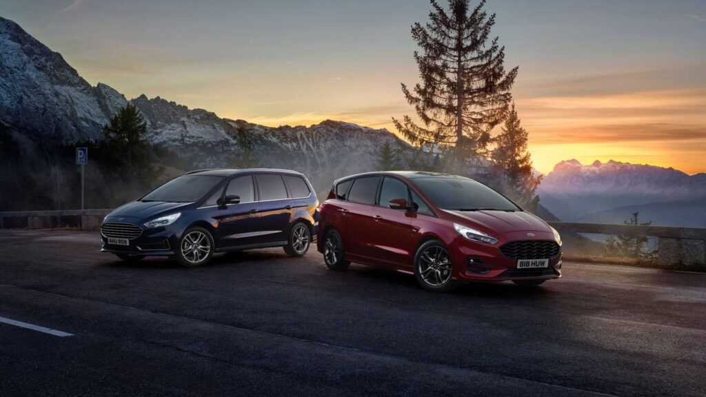Ford S Max Hybrid And Galaxy Hybrid